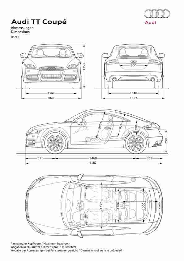The Audi Tt Dynamic Lightweight And Highly Efficient En