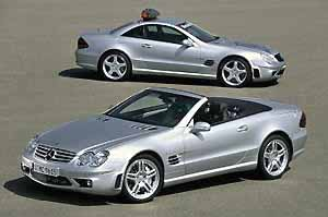 sl 55 amg, photo by daimlrchrysler 06-03