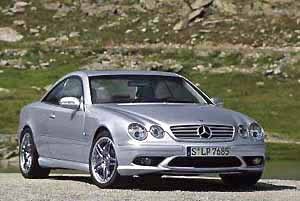 mercedes-benz cl 55 amg, photo by daimlerchrysler 08-03