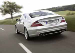 Mercedes-Benz CLS 55 AMG, photo by daimlerchrysler 07-2004