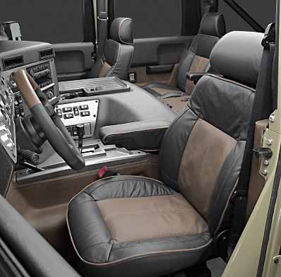 Hummer H1 Interior Photos. new interior, raising H1