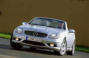 mercedes-benz slk 32 amg,press photo: daimlerchrysler 11/00