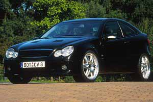brabus c v8 sports coupe, photo by brabus 2001