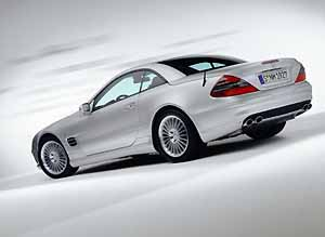 the new sl-class, photo by daimlerchrysler 08/01