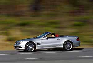 the new sl 55 amg, photo by daimlerchrysler 12/01