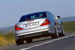 the news sl 55 amg, photo by daimlerchrysler 12/01