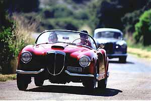 lancia aurelia, press photo:lancia 06/00