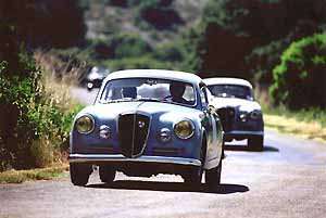 lancia aurelia,press photo:lancia 06/00